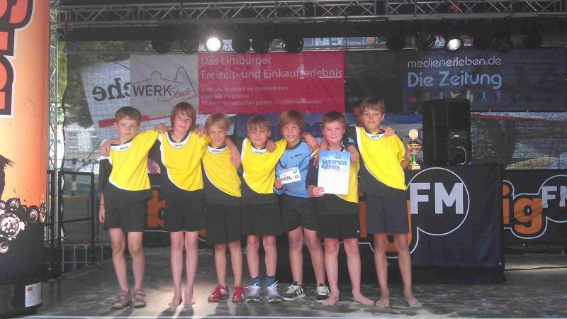 ***Summer Games Limburg, Beach-Soccer Sieg !!***