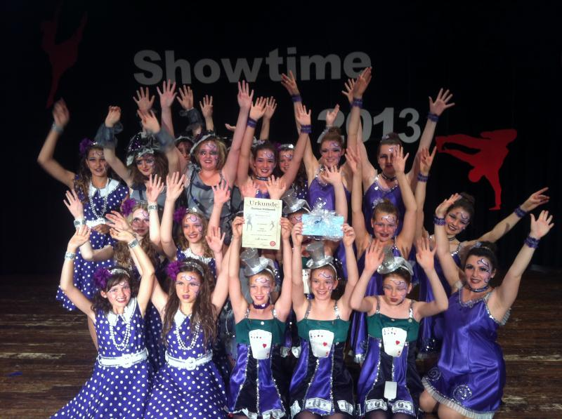 2. Platz Showtanzturnier Bad Camberg