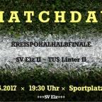 Kreispokalhalbfinale SV Elz II - TUS Linter II